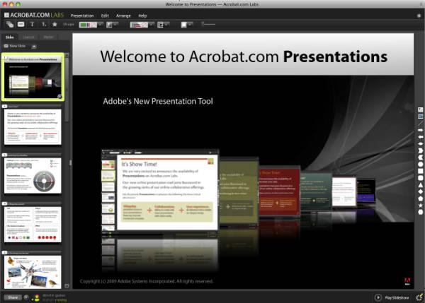 Presentations Arayüz