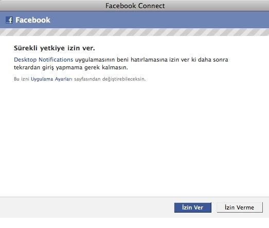 Facebook Kullanıcı Ayarları