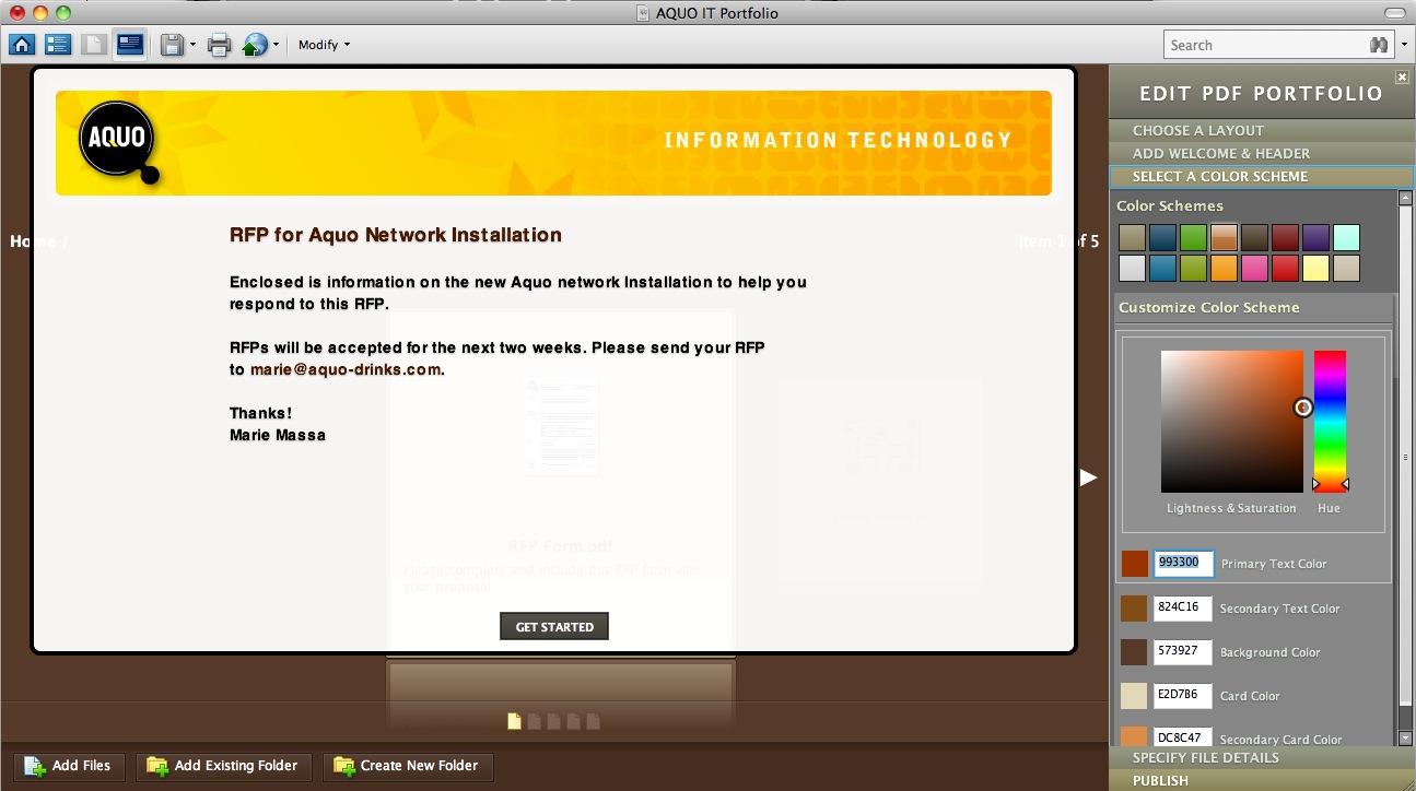 Adobe Acrobat Ile Interaktif Portfolyo Ve Sunumlar Oluşturun