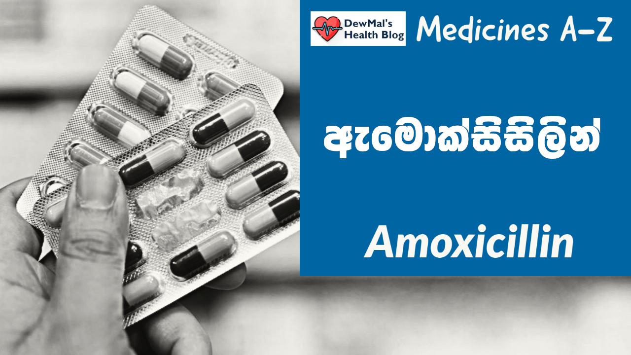 Amoxicillin ඇමොක්සිසිලින්