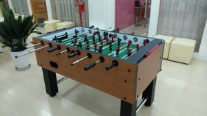 Foosball Table in School