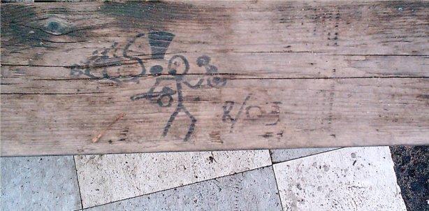table graffiti