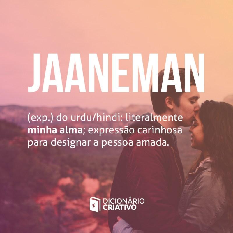 Jaaneman palavra de amor