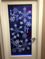 Winners of the Christmas Door Decoration Contest