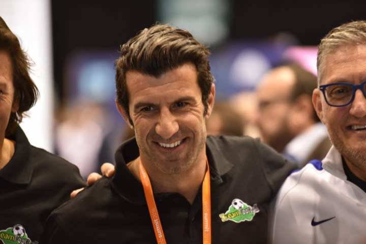 Luis Figo is involved in a fantasy sports crypto