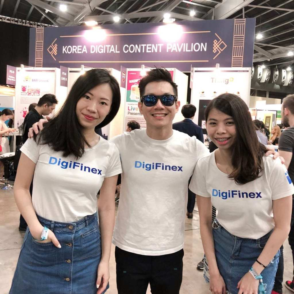 DigiFinex at Echelon Asia