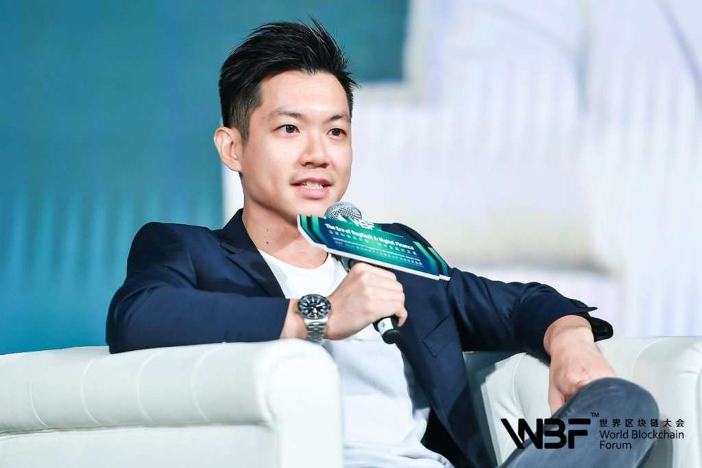 Dennis Hui represents DigiFinex at WBF Singapore, co-hosted by S Block