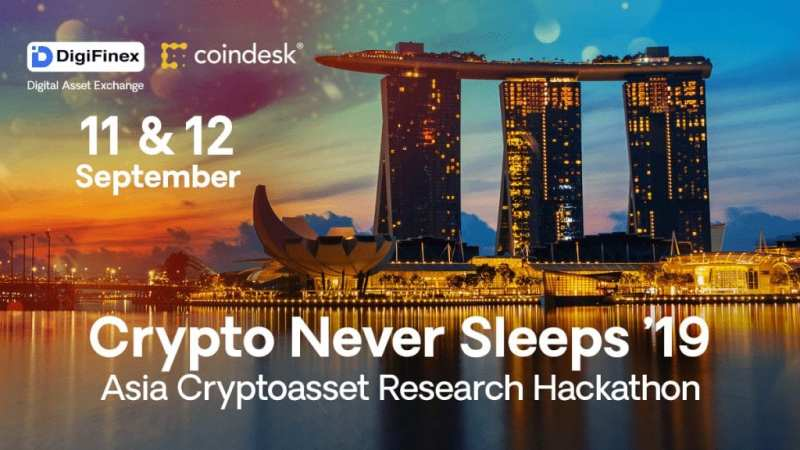 Crypto Never Sleeps by DigiFinex and CoinDesk