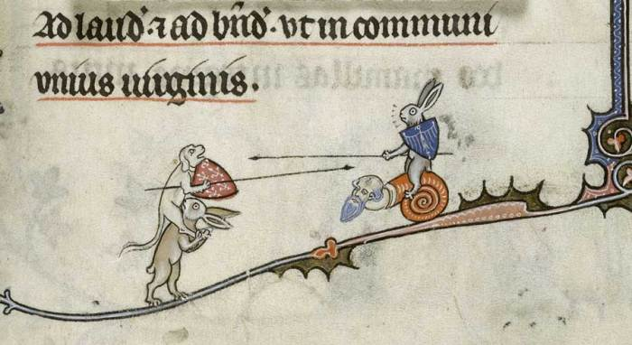 Jousting Bunny