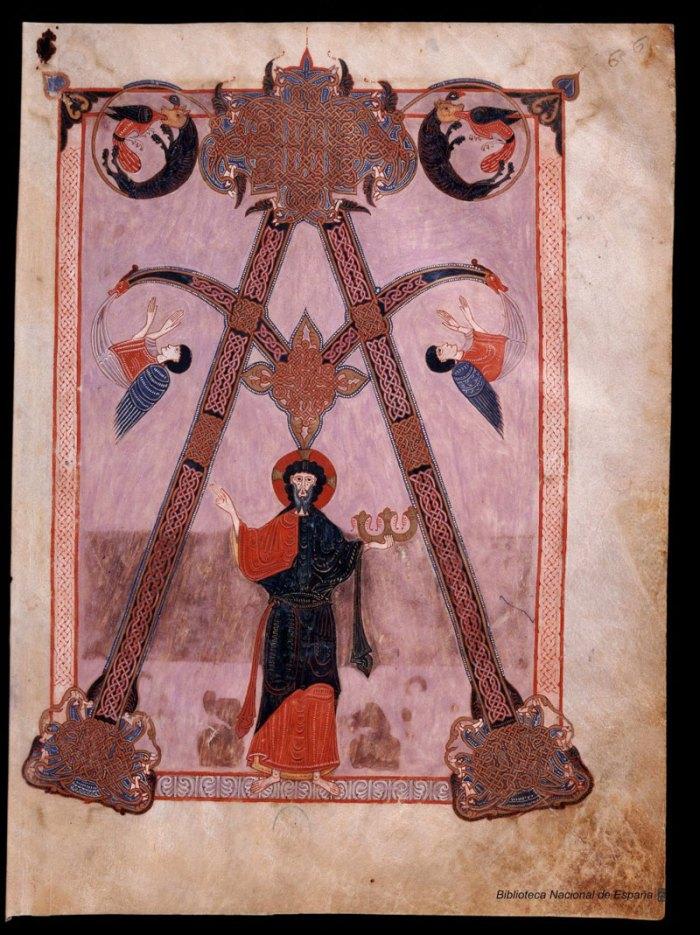 Beatus de Liébana : Códice de Fernando I y Dña. Sancha - Inital A