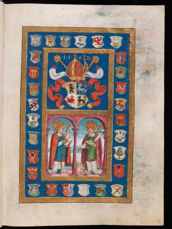 St. Gallen, Stiftsbibliothek, Cod. Sang. 543 from e-Codices