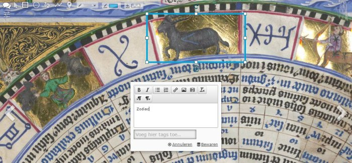 IIIF Colour inversion in a manuscript from the BSB