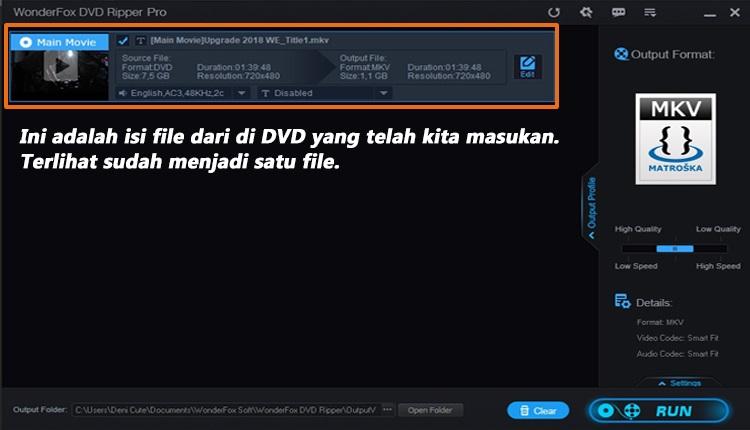 jalankanWonderFox DVD Ripper Pro 2