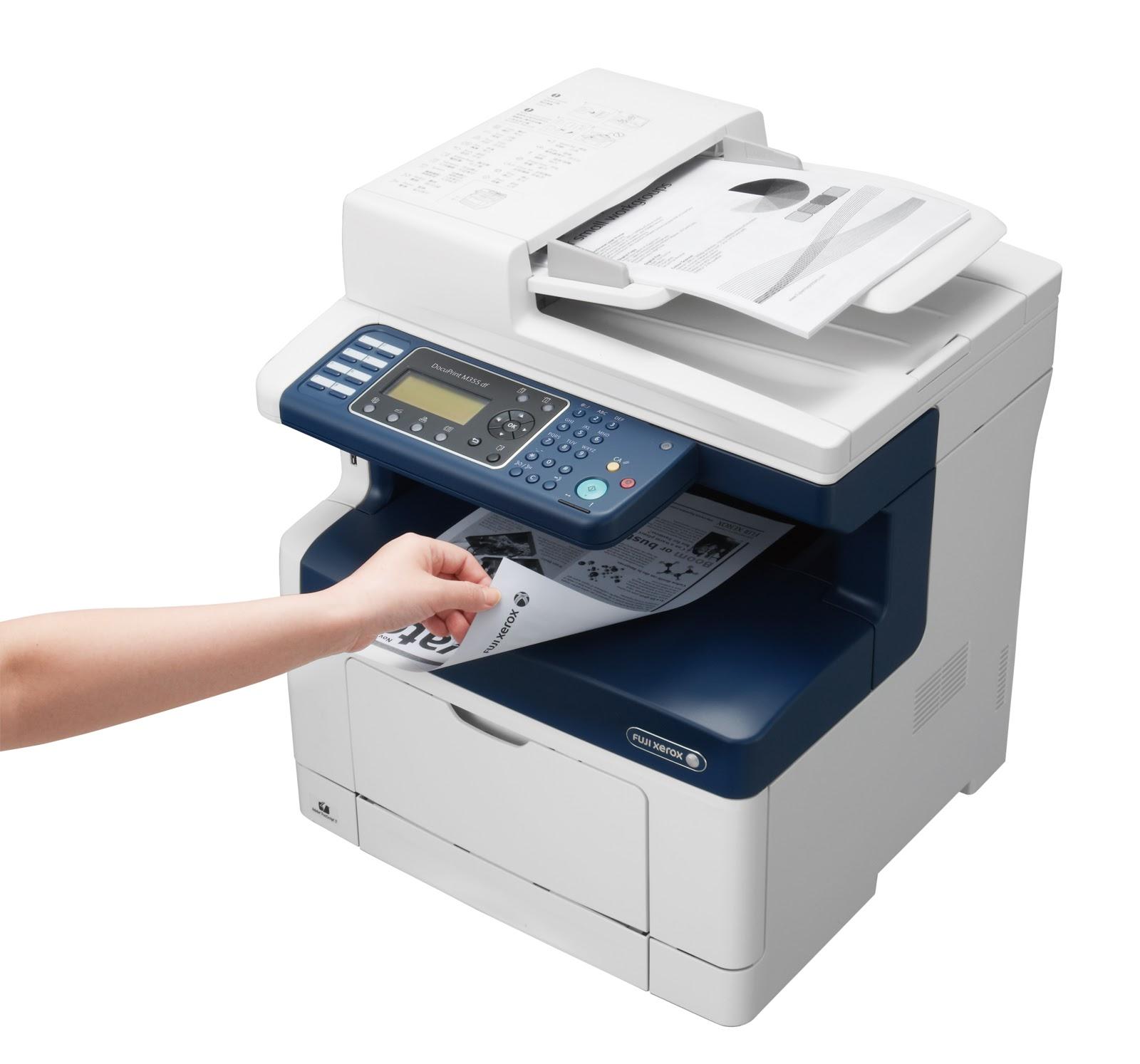 Fuji Xerox DocuPrint M355df Printer Laser untuk Kebutuhan UKM