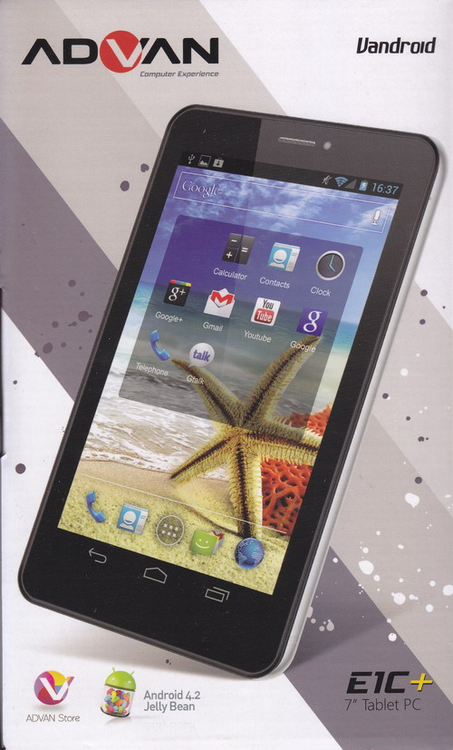 Advan Tablet Android  E1C