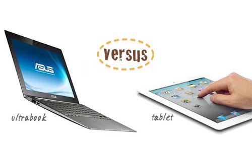 Ultrabook vs Tablet