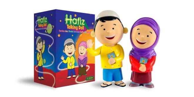Digital Pen Al-Qolam Talking Doll Hafizah, Solusi Belajar Al-Quran