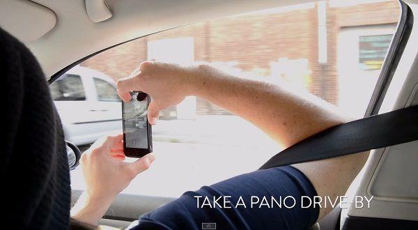 Membuat foto Pano-Drive