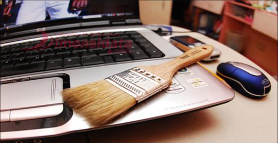 cara membersihkan keybord