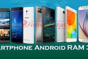 Daftar 5 Smartphone Android RAM 3GB Terbaru dan Terbaik