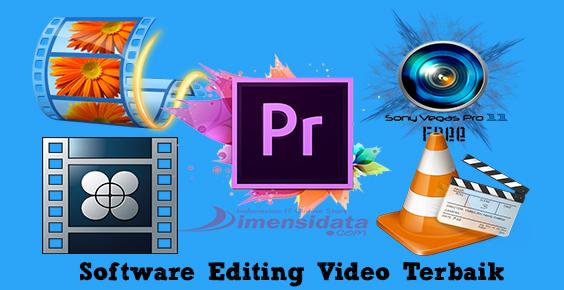 Rekomendasi Software editing video gratis terbaik