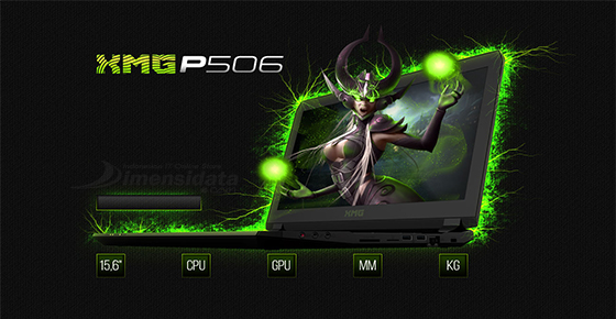 Schenker XMG P506 Pro Gaming
