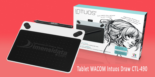 Tablet WACOM Intuos Draw CTL-490
