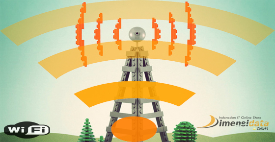 Koneksi Internet Sinyal WiFi