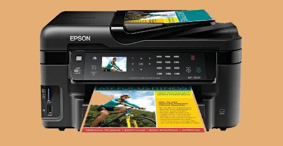 Epson WorkForce WF-3520 Wireless All in One Color Inkjet Printer