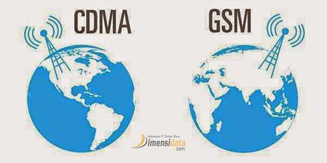 Pengertian serta Perbedaan Jaringan GSM dan CDMA