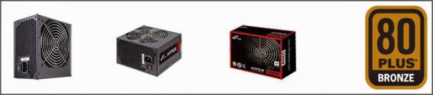 FSP Hyper 500W 80+ Bronze Sertificate