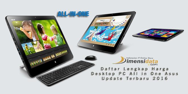 Jual Online PC All in One Asus Terbaru 2016 Harga Paling Murah Garansi Resmi