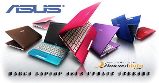 Harga dan Spesifikasi Terbaik Laptop atau Notebook Asus Terbaru Bulan April 2016
