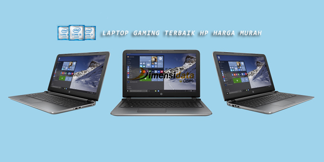 Rekomendasi Laptop Gaming Terbaik HP Harga Murah Terbaru