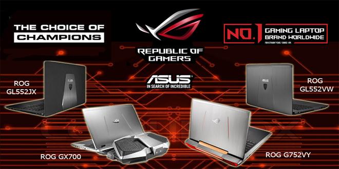 pesifikasi Notebook Laptop Asus Rog Gaming Series Semua Tipe dan Harga Terbaru Juni Juli 2016
