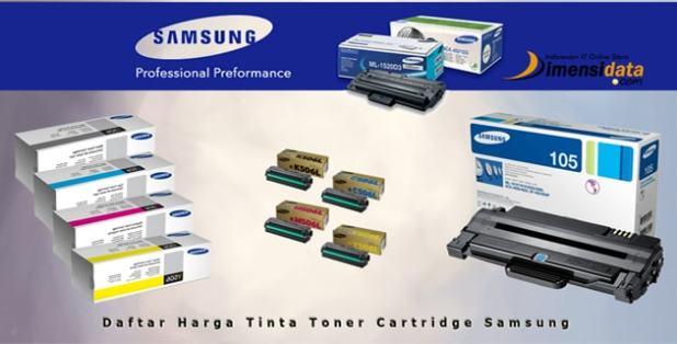 Daftar Harga Tinta Toner Cartridge Samsung Original yang bagus murah