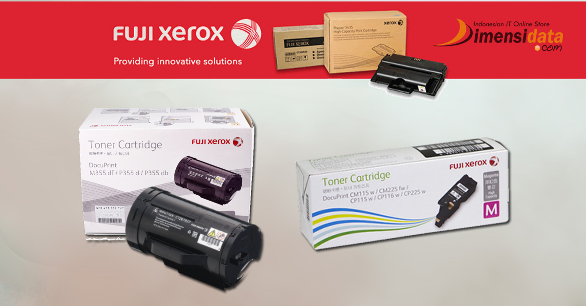Daftar Harga Tinta Toner Cartridge printer Fuji Xerox Original Terbaru 2016