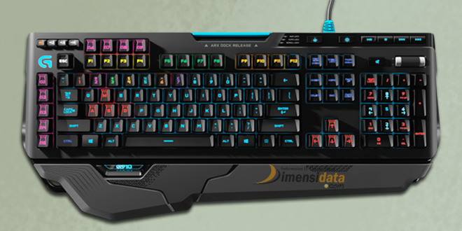 Logitech 910 Orion Spark RGB Mechanical keyboard gaming terbaik terbaru