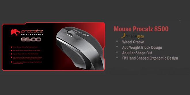 Procatz 8500 Gaming Mouse terabik harga murah