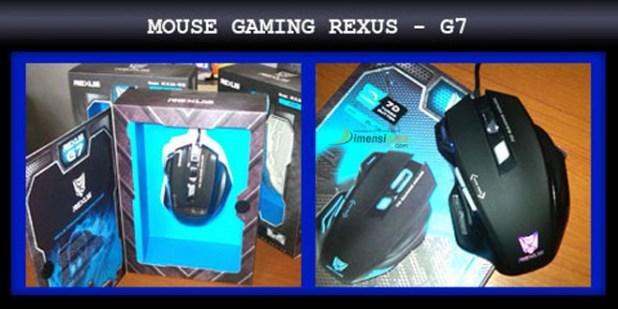 Rexus RXM G7 Mouse Gaming terbaik 2016