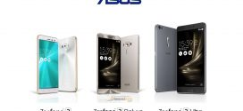 Spesifikasi dan Harga Hp Asus Zenfone 3 ZE552KL, Deluxe ZS570KL, Ultra ZU680KL Terbaru Juni 2016