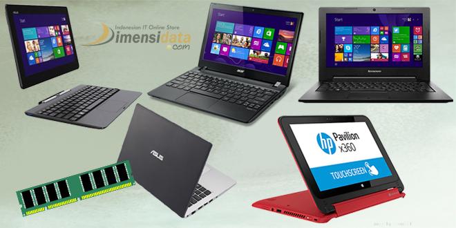 Daftar Laptop RAM 4GB Terbaik Asus, Acer, HP Lenovo Termurah 2016