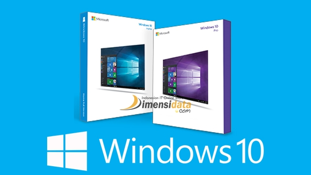 Harga Windows 10 Pro Original dan Windows 10 Home di DimensiData
