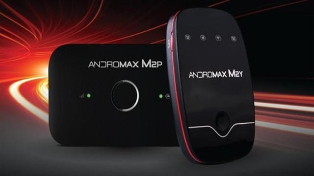 Modem Andromax Mifi 4G LTE M2P dan Smartfren M2Y
