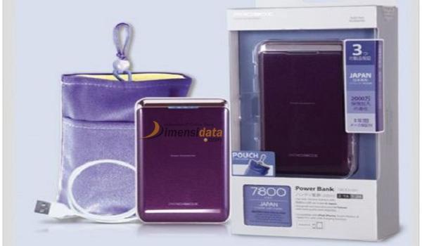 PowerBank Kualitas Bagus Merk Sanyo PROBOX 7800 mAh Murah