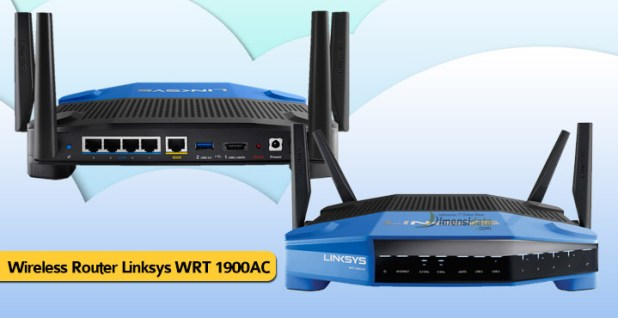 Wireless Router Terbaik Linksys WRT 1900AC