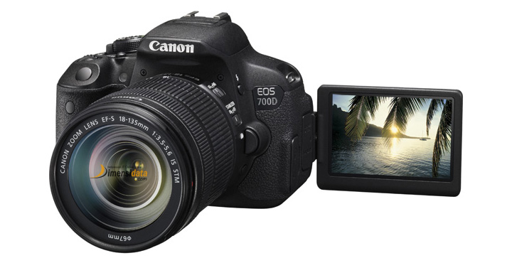 Layar Kamera CANON EOS 700D Kit2