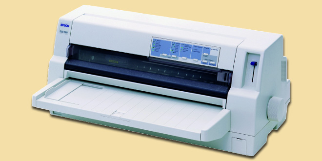 Macam Jenis Tipe Printer Dot Matrix