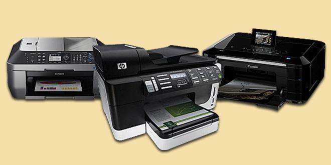 Macam Jenis Tipe Printer Inkjet