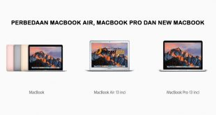 Perbedaan Spesifikasi MacBook Air, MacBook Pro dan New MacBook